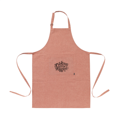Picture of COCINA RECYCLED COTTON APRON in Red