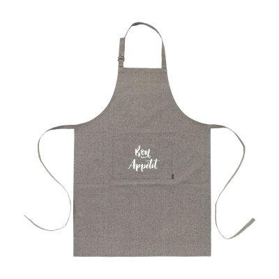 Picture of COCINA RECYCLED COTTON APRON in Black