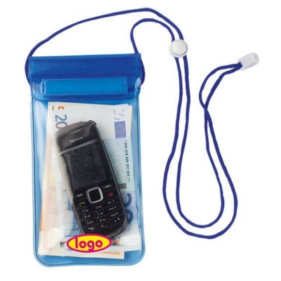 Picture of WATERPROOF NECK WALLET PVC COVER in Blue