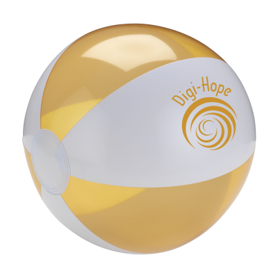 Picture of BEACHBALL Ø 24 CM in White & Orange