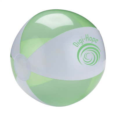 Picture of BEACHBALL Ø 24 CM in White & Green