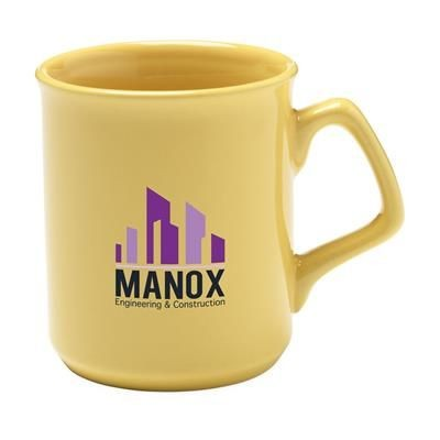 Picture of HIGH QUALITY PORCELAIN MUG in Yellow