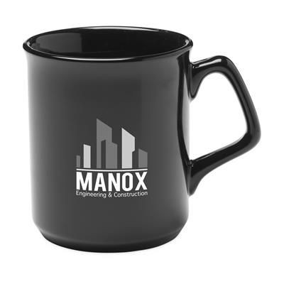 Picture of HIGH QUALITY PORCELAIN MUG in Black