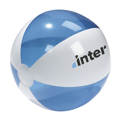Picture of BEACHBALL Ø 30 CM in Blue & White