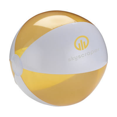 Picture of BEACHBALL Ø 30 CM in White & Orange