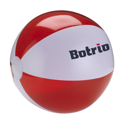 Picture of BEACHBALL Ø 30 CM in White & Red