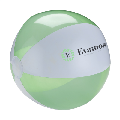 Picture of BEACHBALL Ø 30 CM in White & Lime