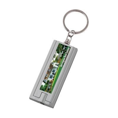 Picture of FLAT SCAN KEYRING in Grey