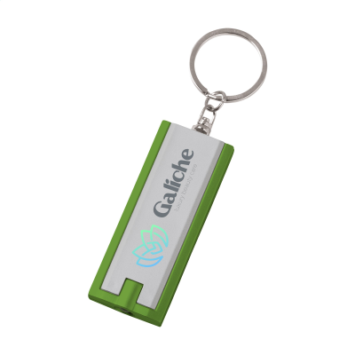 Picture of FLATSCAN KEYRING in Silver & Green