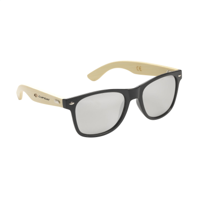 Picture of MALIBU ECO-MIX SUNGLASSES in Black