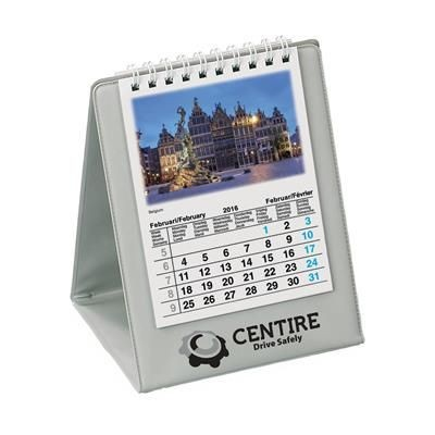 Picture of EUROVISION DESK CALENDAR in Grey