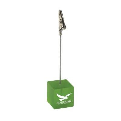 Picture of CLIP PHOTO & MEMO HOLDER in Transparent Green