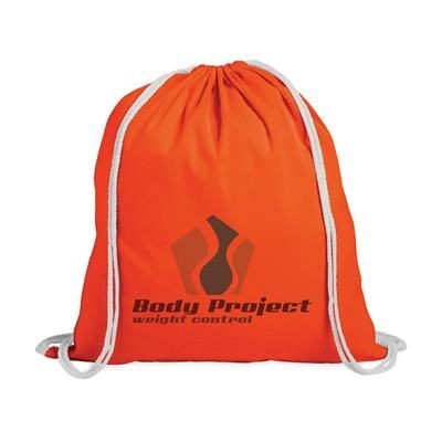 Picture of PROMO COLOUR BACKPACK RUCKSACK in Orange