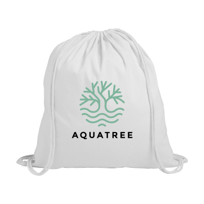 Picture of PROMOCOLOUR BACKPACK RUCKSACK in White
