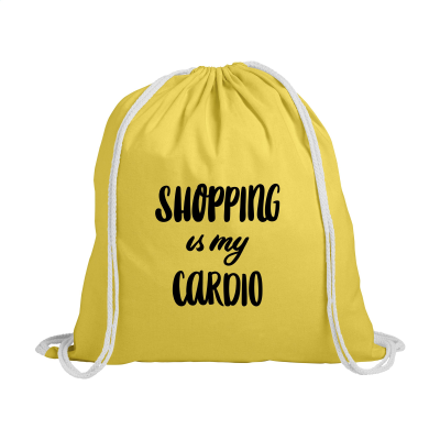 Picture of PROMOCOLOUR BACKPACK RUCKSACK in Yellow