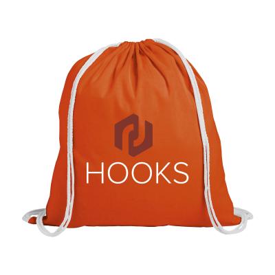 Picture of PROMOCOLOUR BACKPACK RUCKSACK in Orange
