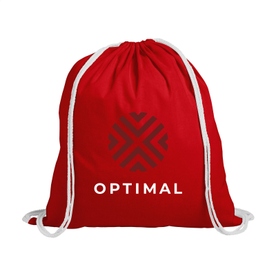 Picture of PROMOCOLOUR BACKPACK RUCKSACK in Red