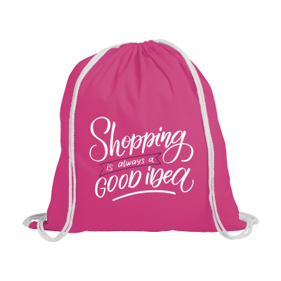 Picture of PROMOCOLOUR BACKPACK RUCKSACK in Pink
