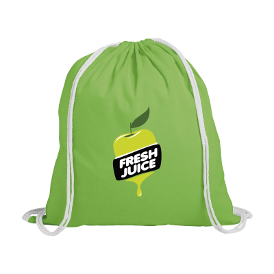 Picture of PROMOCOLOUR BACKPACK RUCKSACK in Lime