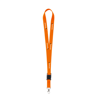 LANYARD in Neon Fluorescent Orange