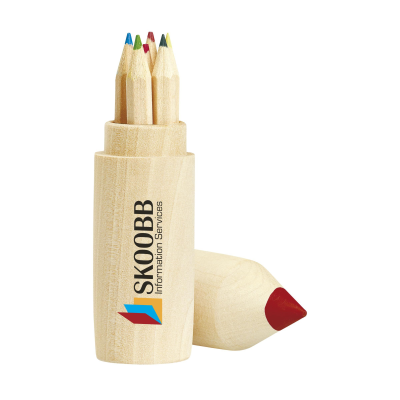 Picture of COLOURWOODY COLOUR PENCIL SET in Wood