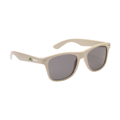 Picture of MALIBU ECO WHEATSTRAW SUNGLASSES in Natural