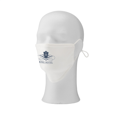 Picture of COTTON MASK PREMIUM FACE COVERING in White