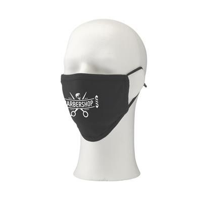 Picture of COTTON MASK PREMIUM FACE COVERING in Black