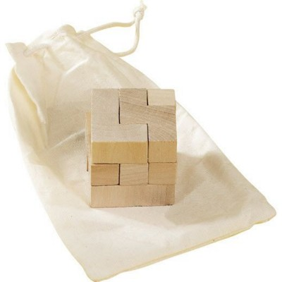 Picture of WOOD CUBE PUZZLE