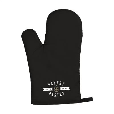 Picture of KITCHENGLOVE OVEN GLOVES in Black