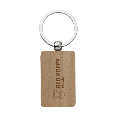 Picture of WOODKEY RECTANGULAR in Wood