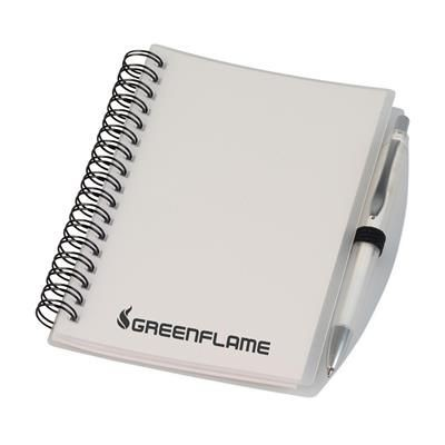 Picture of EASYBOOK SPIRAL WIRO BOUND NOTE BOOK in White