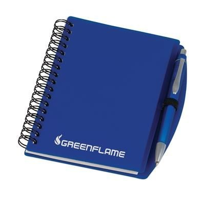 Picture of EASYBOOK SPIRAL WIRO BOUND NOTE BOOK in Blue