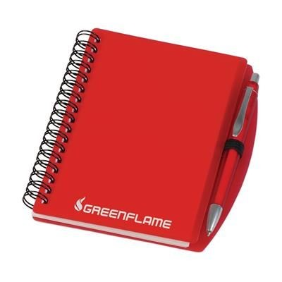 Picture of EASYBOOK SPIRAL WIRO BOUND NOTE BOOK in Red
