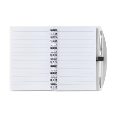 Picture of NOTE BOOK A6 NOTE BOOK in Transparent White