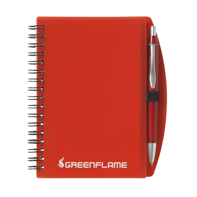 Picture of NOTE BOOK A6 NOTE BOOK in Transparent Red