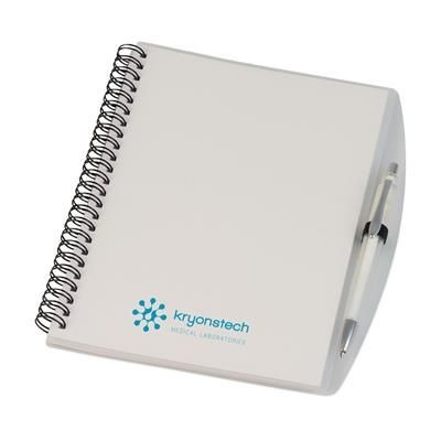 Picture of A5 SPIRAL WIRO BOUND NOTE BOOK in White