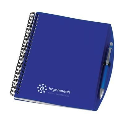 Picture of A5 SPIRAL WIRO BOUND NOTE BOOK in Blue