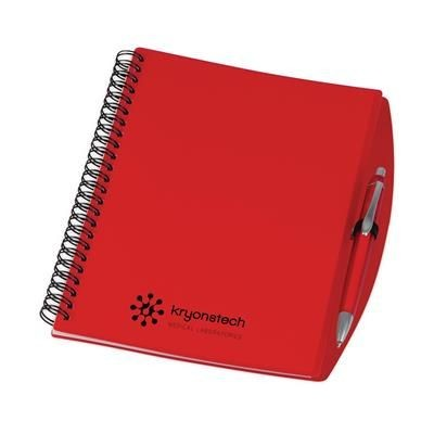 Picture of A5 SPIRAL WIRO BOUND NOTE BOOK in Red