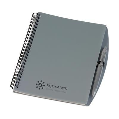 Picture of A5 SPIRAL WIRO BOUND NOTE BOOK in Grey