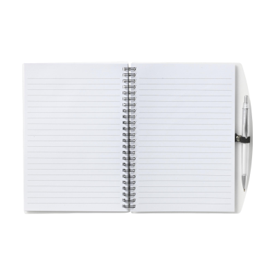 Picture of NOTE BOOK A5 NOTE BOOK in Transparent White