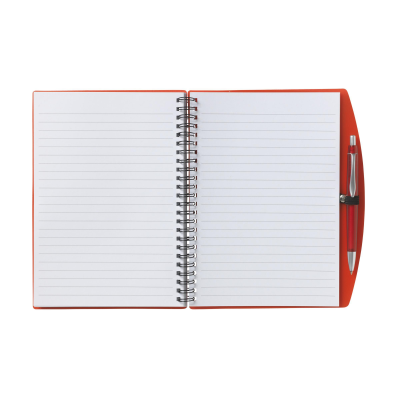 Picture of NOTE BOOK A5 NOTE BOOK in Transparent Red