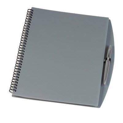 Picture of A4 SPIRAL WIRO BOUND NOTE BOOK in Silver Grey