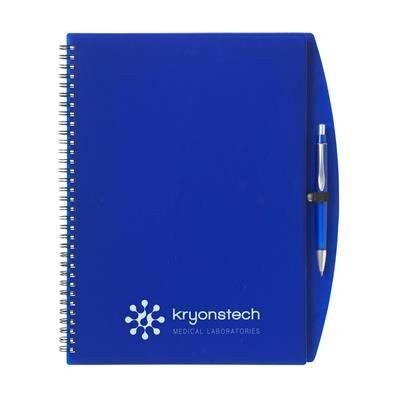 Picture of NOTE BOOK A4 NOTE BOOK in Transparent Blue