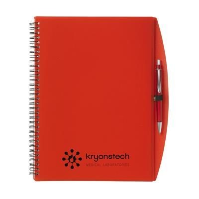 Picture of NOTE BOOK A4 NOTE BOOK in Transparent Red