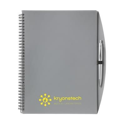 Picture of NOTE BOOK A4 NOTE BOOK in Silver Grey