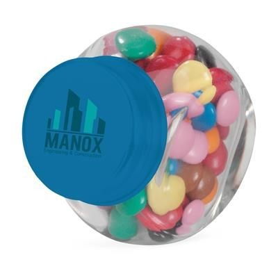 Picture of MINI GLASS CANDY JAR in Light Blue