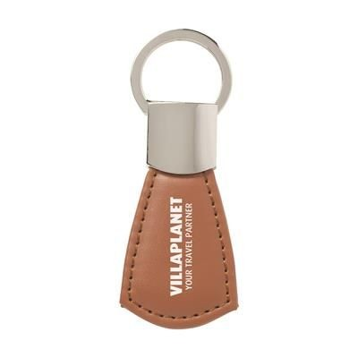 Picture of SECURE KEYRING in Brown