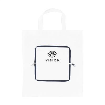 SMARTSHOPPER FOLDING BAG in White