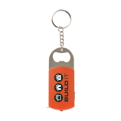 Picture of MULTIKEY KEYRING CHAIN in Red